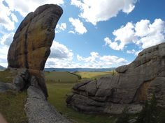 Picturesque rock formations are the hall mark of Gorkhi Terelj National Park in…