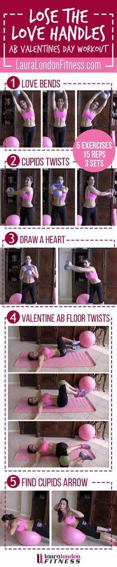 Lose the Love Handles Workout with Laura London Fitness