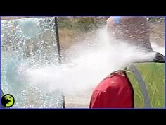 Shotgun Slugs VS $1800  Bulletproof Glass