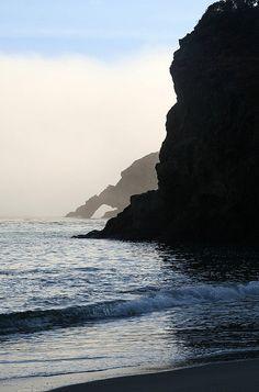 Navarro beach, California.