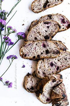 ... chocolate cherry bread ...