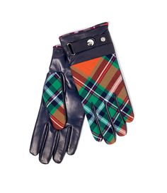 Tartan Gloves Classic #AW1415, Vivienne Westwood