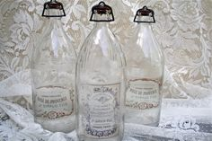 Full tutorial for creating your own Vintage Bottle Labels...so dreamy :)