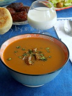 Plats Ramadan, Soup Recipes, Healthy Recipes, Thai Red Curry, Easy Meals, Dishes, Cooking, Ethnic Recipes, Kitchen