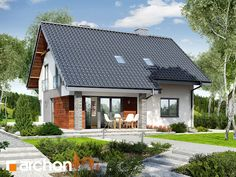 If the quiet suburbs are your dream location, then this prefab house could be your dream home. Prefabricated Houses, Prefab Homes, Cheap Houses, Storey Homes, House Stairs, Good House, Home Fashion, Home Projects, Beautiful Homes