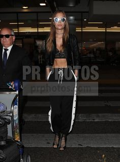Josephine Skriver Sighted at LAX Airport in Los Angeles on November 2 2017