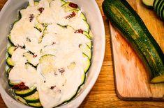 Gratin de ravioles du dauphiné, courgettes et saumon fumé - Les petits plats de Mélina