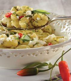"Delicias vegetarianas: ""Ensalada de pasta"" https://www.pinterest.com/pin/331014641336774685/"