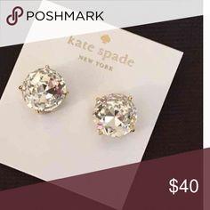 Kate Spade Earrings for holmes_ New Kate Spade Earrings for holmes_. Color: Clear kate spade Jewelry Earrings