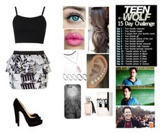 """Teen Wolf Challenge: (9) Favorite Lacrosse Character"" by megan-malik33 ❤ liked on Polyvore featuring River Island, Topshop, Christian Louboutin, ASOS, Novo, coach, TeenWolf, challenge and BobbyFinstock"