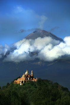 El Popo has been active this week (june 2013) so here's a photo. (Popocatepetl Mexico)