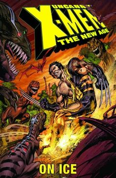 Uncanny X-Men - The New Age Vol. 3: On Ice @ niftywarehouse.com #NiftyWarehouse #Xmen #Marvel #X-Men #Comics #Geek #ComicBooks
