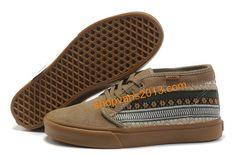 Vans Canvas Chukka Boots Striped Mens Skate Shoes 2012 New Arrival - Brown Vans Skate Shoes, Mens Vans Shoes, Vans Sneakers, Nike Shoes, Tatoo Skate, Crazy Shoes, Me Too Shoes, Wholesale Shoes, Sneaker Boots