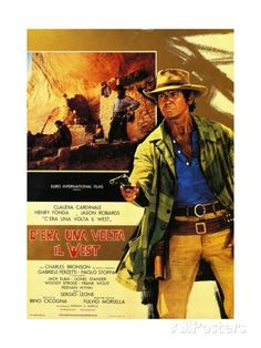 Once Upon a Time in the West, 1968 (C'Era Una Volta Il West) Giclee ...