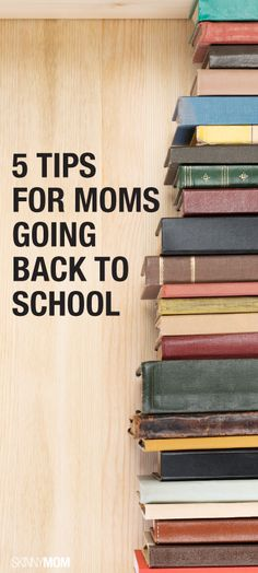 If you're a mom going back to school, this is a must read!