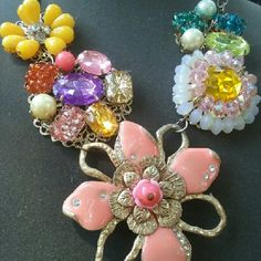 $2 Tuesday Pick of the week! Spring Fling' statement necklace great craftsmenship! Lightly Flaunted ;) Jewelry Bracelets