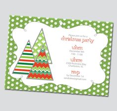 Christmas Invitations Free Printable  Free Xmas Invitations