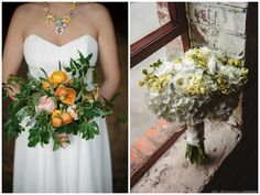 Here's what Nashville brides are wanting for their bridal bouquets! #w101nashville #noticingnashville #greenfinchfloraldesign #bridalbouquets #weddingflowers