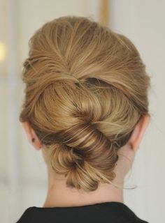 Long hair twist // perfect for work or parties