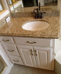 Giallo Ornamental Granite Vanity Tops                                                                                                                                                      More