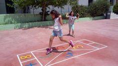 Το ωραιότερο σχολικό προαύλιο με επιδαπέδια παιχνίδια βρίσκεται στη Νάξο! #sxoleio #σχολειο #ναξος #naxos #ομορφοσχολειο #ωραιοσχολειο #σχολειοναξος Basketball Court, Sports, Hs Sports, Sport