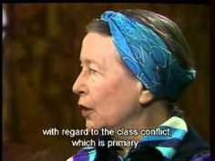 """Simone de Beauvoir Explains """"Why I'm a Feminist"""" in a Rare TV Interview Open Culture Jean Paul Sartre, Florence Nightingale, Contexto Social, Interview, Strength Of A Woman, Book Writer, English, Sister Love, Women In History"""
