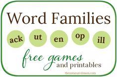 Word Family Activities