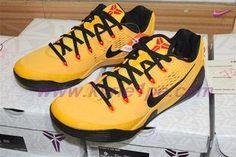 e70dd4a0b5a6 Nike Kobe 9 EM XDR 653972-700 Giallo scarpe tennis