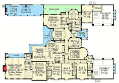 Mediterranean Opulence - 82078KA | 1st Floor Master Suite, CAD Available, Den-Office-Library-Study, European, Luxury, MBR Sitting Area, Media-Game-Home Theater, Mediterranean, PDF, Split Bedrooms | Architectural Designs