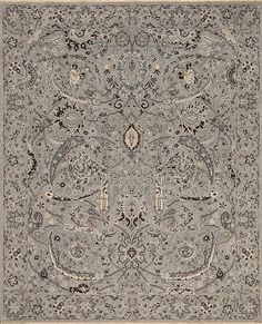 Kings - David - Samad - Hand Made Carpets King David, Grey Rugs, Carpet, Handmade, Hand Made, Gray Carpet, Rug, Gray Rugs, Arm Work