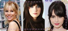 We love bangs! Not so willing to take the plunge? Why not try some clip-ins?