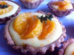 Tartelette à la mandarine et pâte au sarrasin