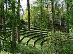 Scott Outdoor Amphitheater, Swarthmore College, Pennsylvania via The Cultural Landscape Foundation
