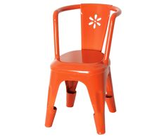 Metal stol, orange