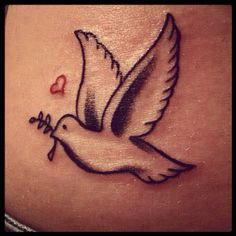 Best tattoo idea EVER! <3 and of course I have it on my shoulder :) minus the heart