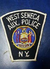 WEST SENECA, NEW YORK AUX. POLICE PATCH