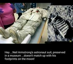 ... Maybe because he Never went to the moon...And ask yourself, with All the technology they have Now, Why hvnt they been back there?! JH.