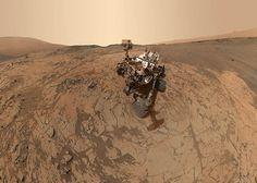 self-portrait of NASA's Curiosity Mars rover.