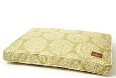 Gabrielle Rect Pillow Bed, Green on OneKingsLane.com