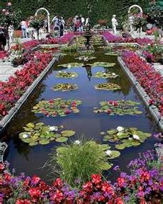 victorian garden pond - maybe a small version of this!