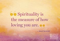 A great quote by @MastinKIpp featured on Oprah's Super Soul Sundays.