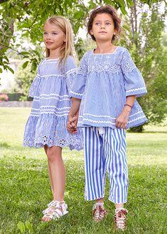 Shop Ermanno Scervino SS18 at Childrensalon #ErmannoScervino #Childrenswear #SS18