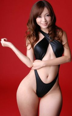 Asian girl with the perfect curves