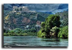 Castell de Miravet i riu  Ebre