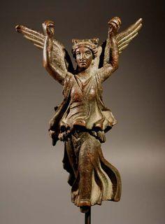 Roman bronze Victory (Nike). 1st - 2nd century AD.