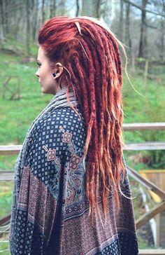 love her dreads Dread Braids, Box Braids, Dreads Styles, Curly Hair Styles, Dreadlock Hairstyles, Cool Hairstyles, Black Hairstyles, Wedding Hairstyles, Hippie Style