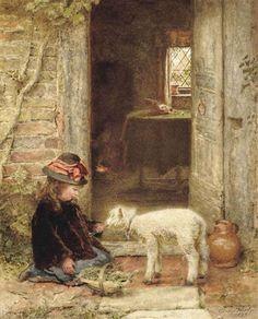 George Hardy, The Pet Lamb