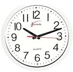 Jastek Round Clock 30cm White White Desk Accessories, White Desks, Clock, Home Decor, Watch, Decoration Home, Room Decor, Clocks, The Hours