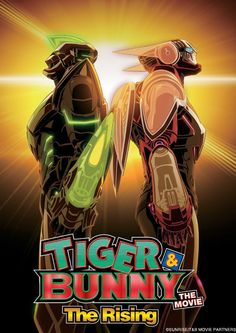 'Tiger & Bunny – The Rising' Anime Feature Gets Formal Theatrical Announcement