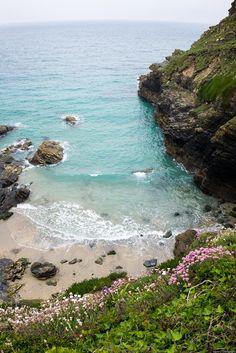 Prussia Cove, Cornwall, England ~ Photo by Devon And Cornwall, Cornwall England, Yorkshire England, London England, Oxford England, Yorkshire Dales, Santa Cruz Camping, Camping Cornwall, Cornwall Beaches